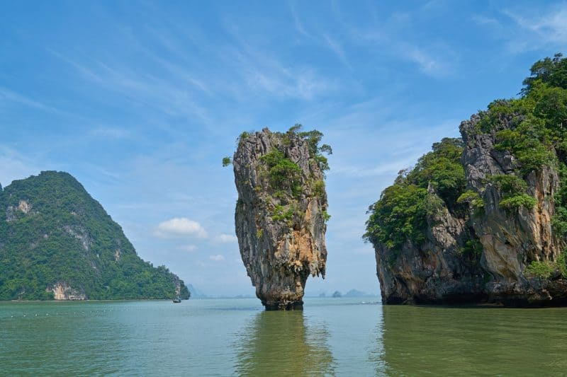 pillar rock at James Bond Island