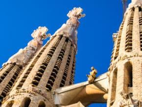 Sagrada Familia Steeples