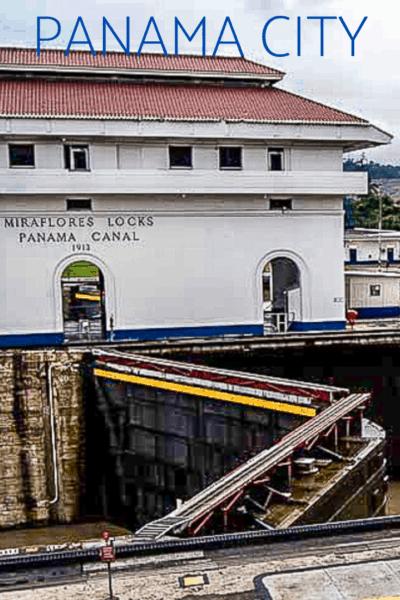 miraflores locks text says panama city