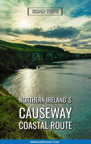 Cliffs on Northern Ireland coastal route