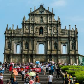 Ruins of St. Pauls in Macao