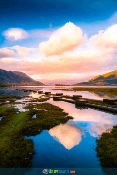 Lake in Glencoe Scotland