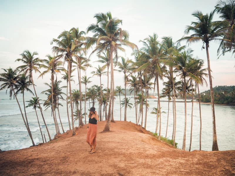 Woman on Coconut Tree Hill