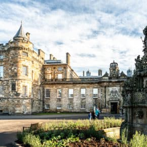 Holyrood castle, Edinburgh, Scotland