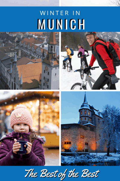 collage of munich in winter text says best of the best