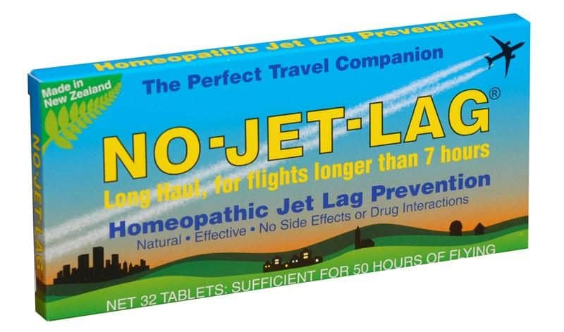 Homeopathic No Jet Lag is our favorite way to prevent jet lag. After the fact