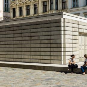 Jewish holocaust memorial in Vienna