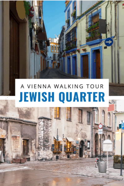 jewish quarter in vienna text says a vienna walking tour jewish quarter