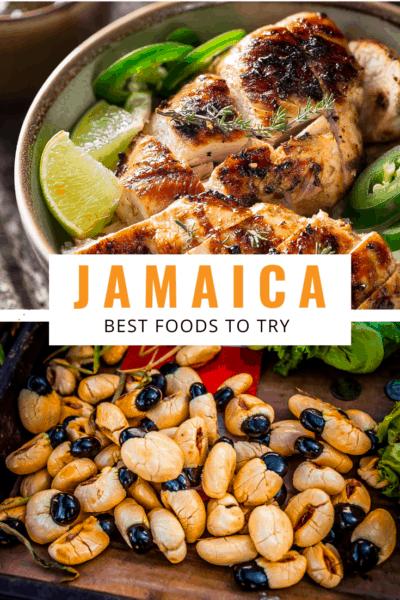 Jamacian jerk text says jamaica best foods to try