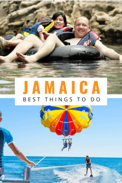 River tubing in jamaica text says jamaica best things to do