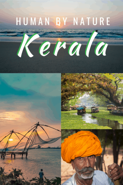 collage text says human by nature kerala