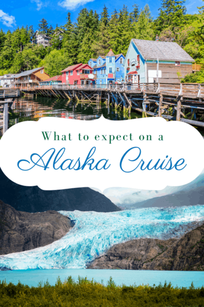 village in alaska text says what to expect on a alaska cruise