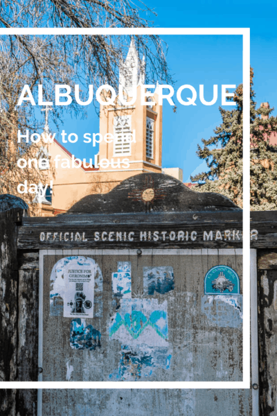 original albuquerque town marker text says albuquerque how to spend one fabulous day