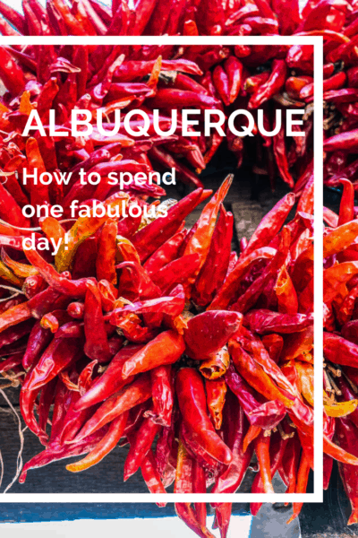 dried red chilis text says albuquerque how to spend one fabulous day