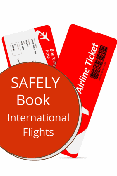 boarding passes text says safely book international flights