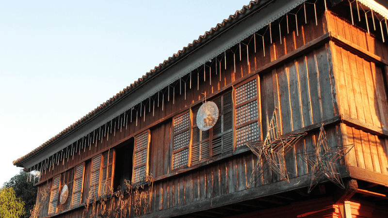 Chinese influenced architecture in Vigan
