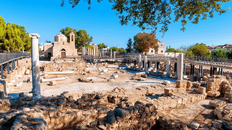 panagia church in Paphos