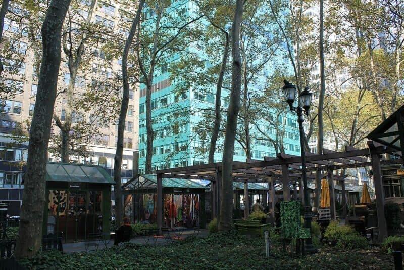Bryant Park Area - New York Cit