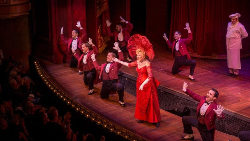 Carol Channing performing Mame on Broadway