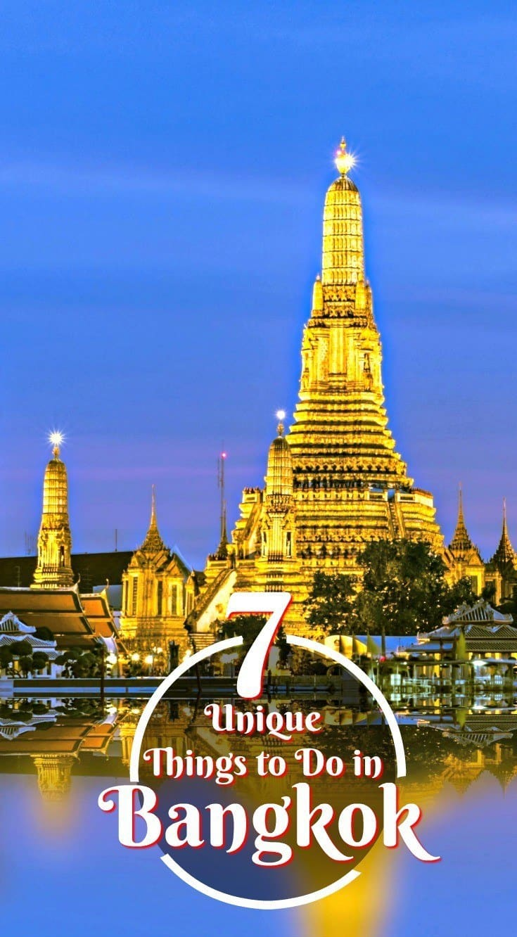 Besides Bangkok's impressive temples, jeweled palaces and other popular attractions, the capital of Thailand also has many hidden and less obvious things to see. Click through for 7 of the more unique and fascinating things to do in Bangkok. | Thailand As We Saw It #bangkok #thailand #traveltips #offbeatexperiences #travelguide