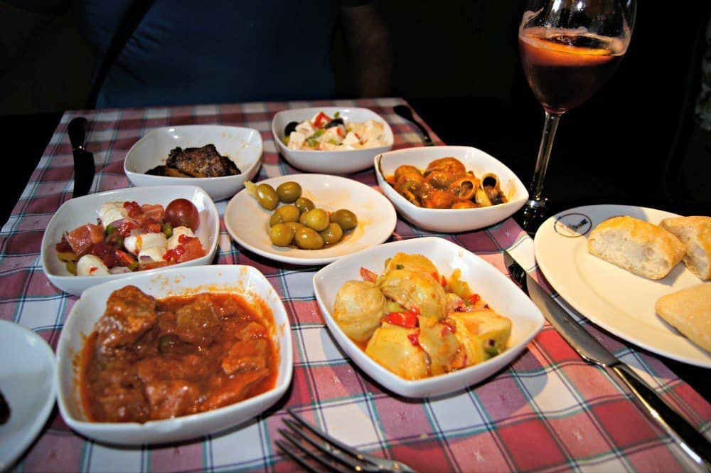 Tapas make a good dinner when you don't want to wait for Spanish dinner hour