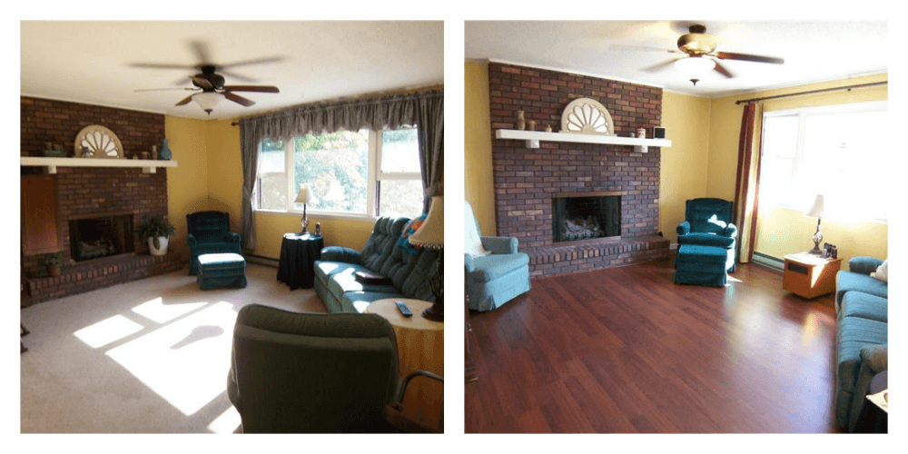 Before-After Living Room