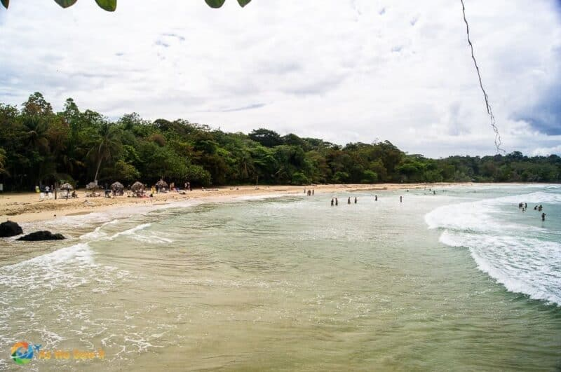 Red Frog Beach on Isla Bastimentos.