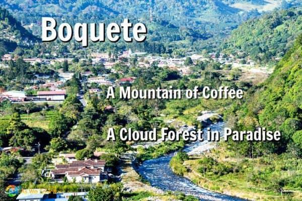 Boquete mountain coffee town