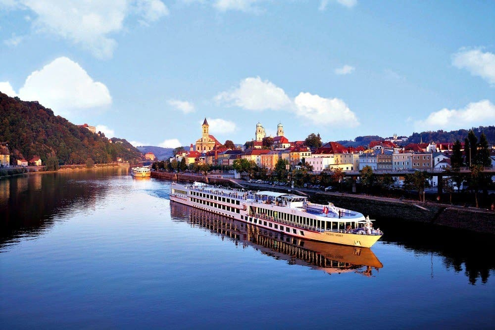 Danube River Cruise Ships Viking River Cruise Ship on