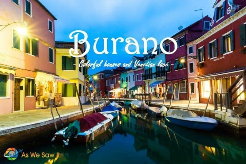 One day in Burano Italy