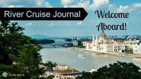 River Cruise Journal Budapest