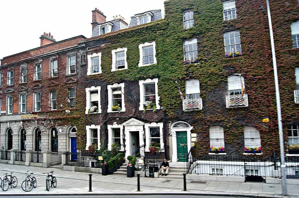 Row houses in Dublin