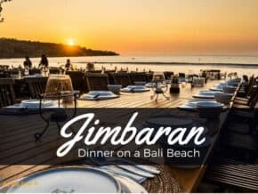 Dinner on Jimbaran beach is a must-do in Bali