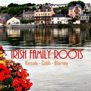 Kinsale, Irish family roots