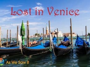 Get lost in Venice back streets and canals