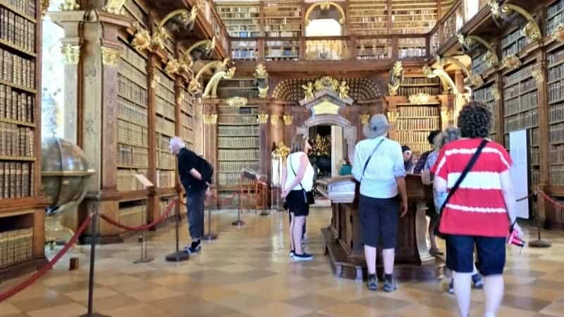 Melk Abbey library aswesaw it.com photo