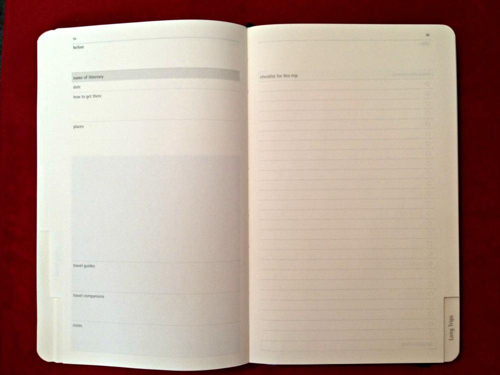Moleskine Travel Journal sec2 tab2
