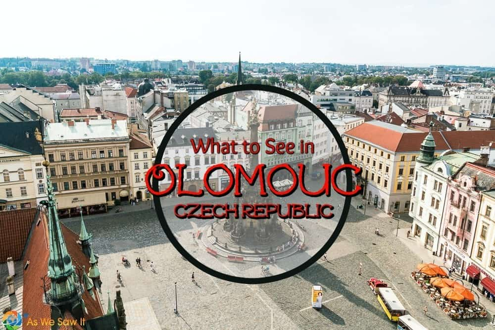 Best things to see and do in Olomouc, Czech Republic. When you want to escape Prague's tourist crowds and visit Moravia, this is the place.
