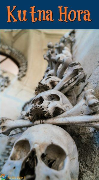 Sedlec Ossuary, the famous bone church of Kutna Hora, is an easy day trip from Prague.