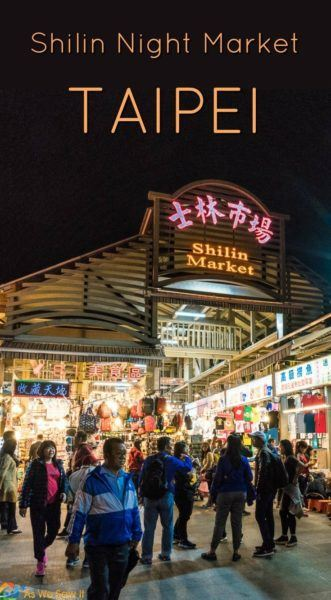 Shilin Night Market is the largest, best-known market in Taipei, Taiwan. It's all due to the unusual street foods and snacks available there.