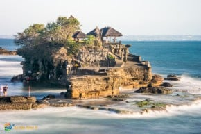 The Island Temple of Tanah Lot on Bali.