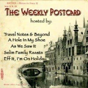 As We Saw It travel blog link exchange #TheWeeklyPostcard icon
