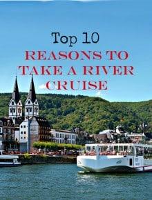 Viking ship cruising European river, Top 10 Reasons to Take a River Cruise