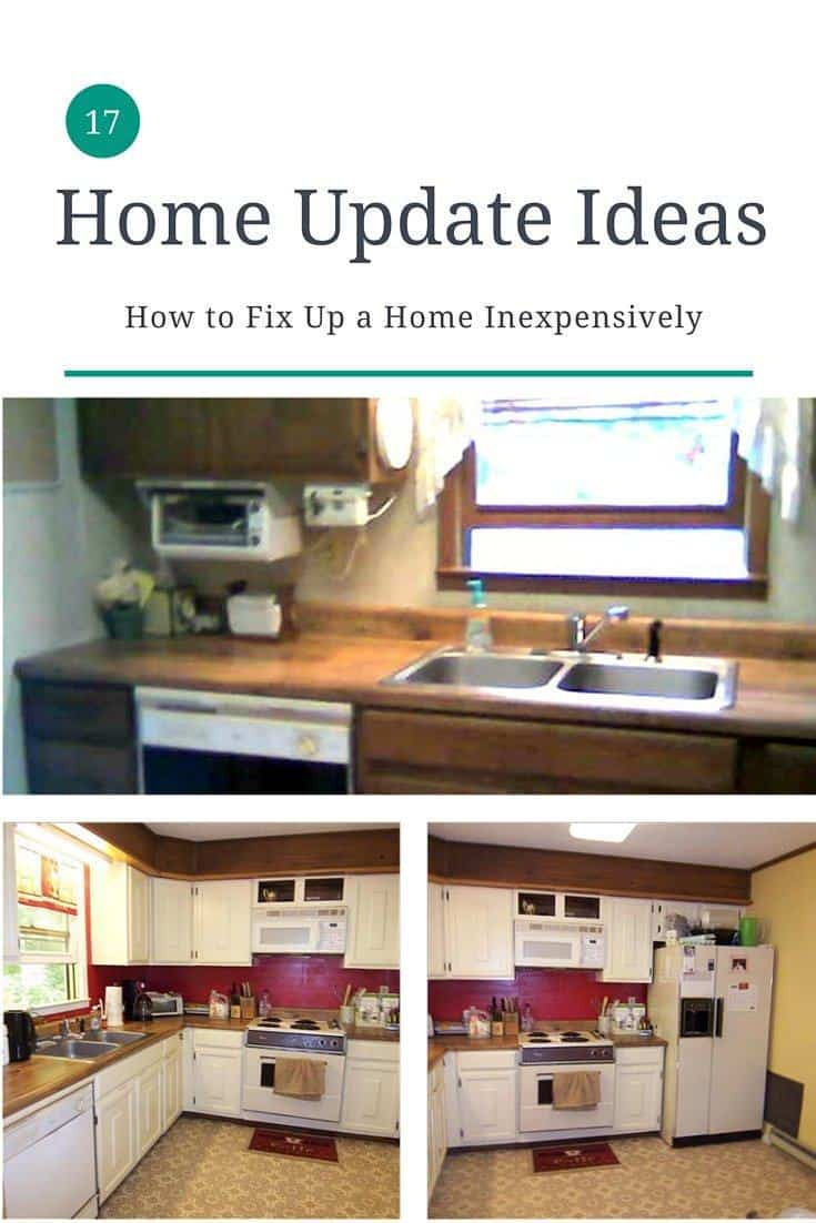 Great home update ideas - 17 easy ways to renovate a 1970s house without spending lots of money.