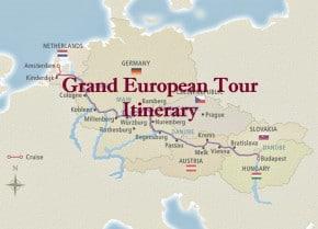 Viking Grand European Tour Cover