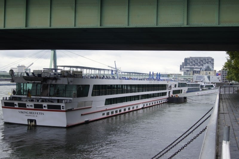 Docked in Cologne