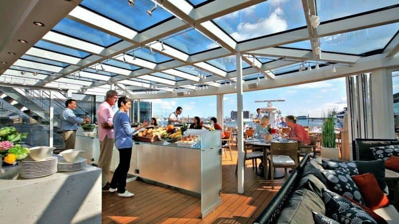 Food, transport, room, all included in the price. Credit: Viking Cruises