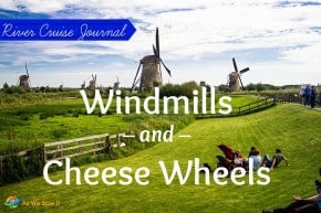 Tour of Kinderdijk windmills and cheese farm