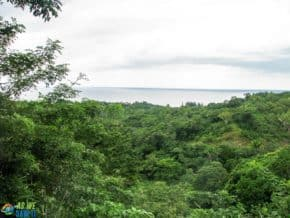 View to the Caribbean Sea, Roatan, Hoinduras