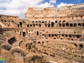 You can see the Colosseum: and the Vatican on the same day in Rome